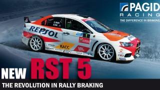 PAGID Racing presenta la sua nuova pastiglia freno RST 5 per auto da Rally: cambiate completamente il vostro modo di frenare!