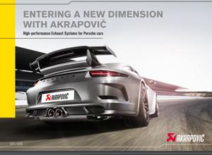 Porsche Akrapovic