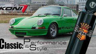 Koni Classic: scopri la linea studiata specificatamente per vetture classiche e youngtimer.