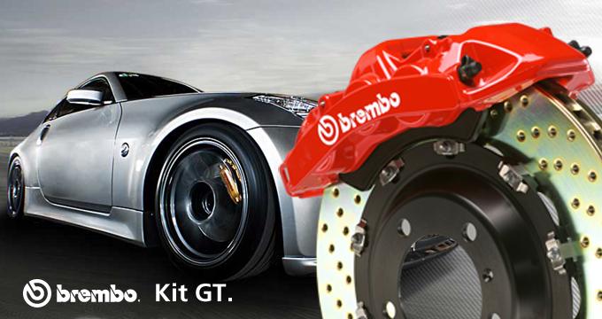 Unisci il prestigio alle performance di un kit GT: la tua auto merita Brembo.
