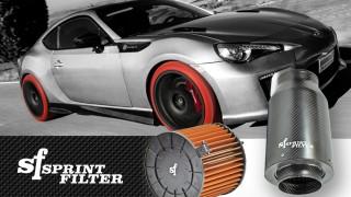 Filtro aria in poliestere Sprint Filter: tecnologia vincente, sempre!