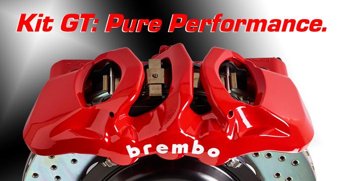 La tua auto merita Brembo: scopri adesso il prestigioso Kit GT.