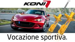 Koni Sport: aumento dell'aderenza con migliori prestazioni in frenata e handling.