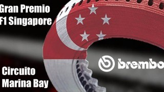 Il GP Singapore Formula 1 2019 secondo Brembo.
