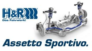 Sospensioni sportive H&R: assicurati controllo dell'auto e guida eccellente.