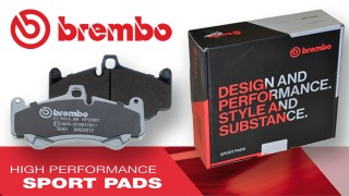 Pastiglie Brembo Sport: Design and Performance. Style and Substance.
