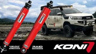 Koni Heavy Track e Raid: perfetti per l'offroad!