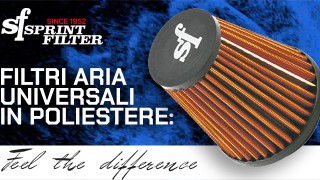 Filtro aria in poliestere Sprint Filter: tecnologia vincente!