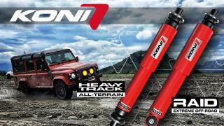 Koni Heavy Track e Raid: ideali per l'offroad!