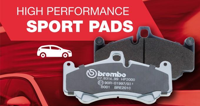 Brembo Sport Pastiglie: high performance per uso stradale.