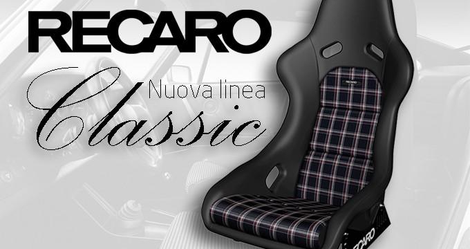 LINEA RECARO CLASSIC: uno stile d'altri tempi!