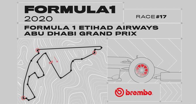 Evidenza Frenate Abu Dhabi