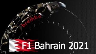 Ai raggi X l'impegno dei sistemi frenanti al Bahrain International Circuit.