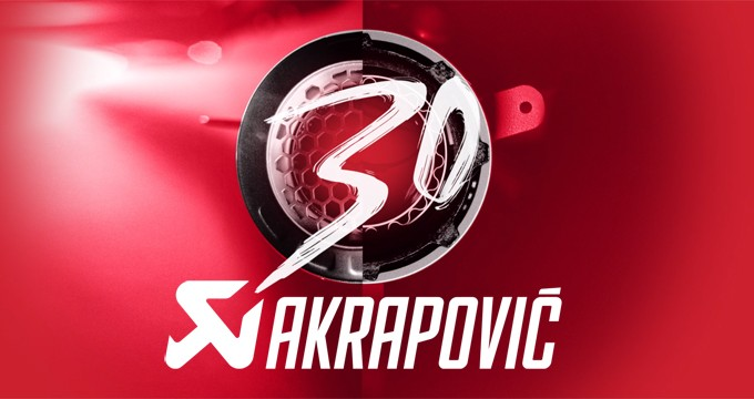 Akrapovič: un patrimonio costruito in 30 anni.