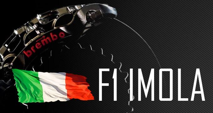 Brembo presenta le specifiche dei freni e il loro uso all'Autodromo Enzo e Dino Ferrari.