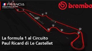 Dischi Brembo con varie ventilazioni per il GP Francia.