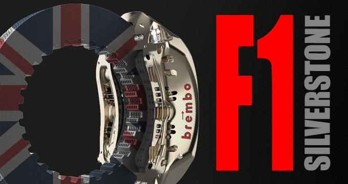 Brembo e l'analisi delle frenate di Silverstone.