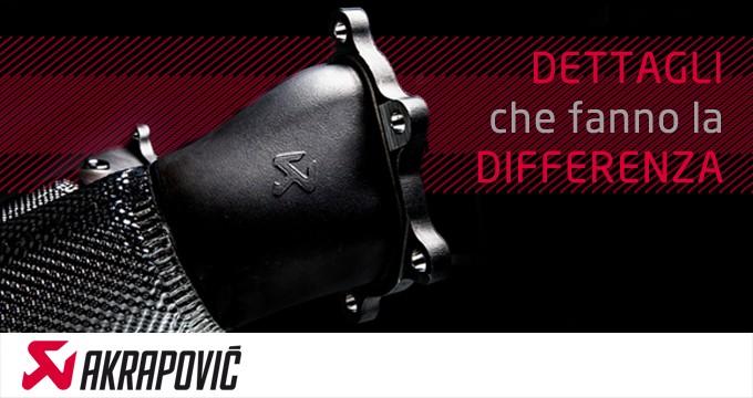 Scarichi AKRAPOVIC: Performance and Style!