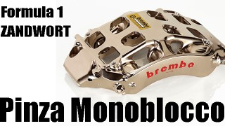 F1: il debutto delle pinze monoblocco Brembo a Zandvoort.