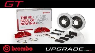 Brembo Upgrade GT: eccellente potenza frenante ed alte prestazioni su strada e su pista.