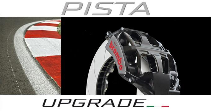 Brembo Upgrade Pista: più di 40 anni di esperienza nelle competizioni in un kit.